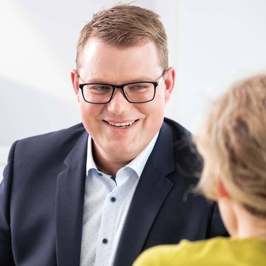 Holger Grießhammer im Gespräch
